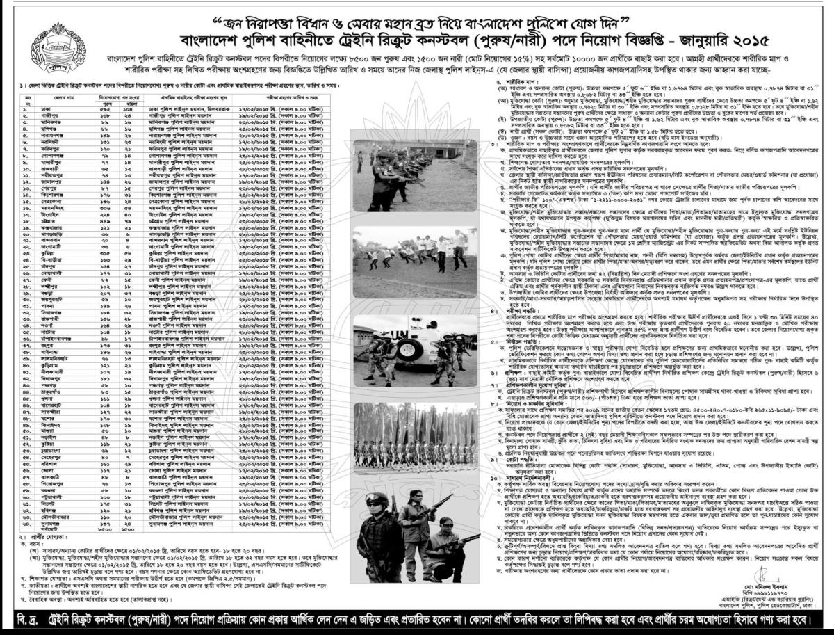 desh Police Constable Job Circular January 2015 - BD Circular on police training form, police employment application, police job brochure, police online application form, police incident report form, police organization chart, police resume form, police departments, police cover letter, police contact form, police interview form, police thank you letter, police complaint form, police information form, police job resume, police job interview, police job benefits, police forums, police job requirements, police officer application,